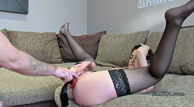Casting anal, Stocking anal, Lingerie anal, Anal stockings