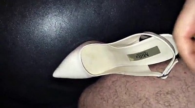 Shoes, Shoe, Boot, Fuck my wife, Wife friend, Pussy public