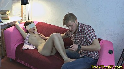 Tricked, Cuckolds, Blindfold, Russian cuckold