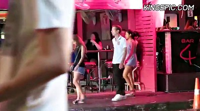 Hooker, Thailand, Hidden camera, Hidden cam, Asian street, Outdoors