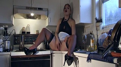 Kitchen, Milf femdom, Instructions, Instruction