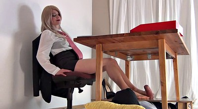 Secretary, Foot domination, Footjob femdom, Femdom footjob, Feet domination