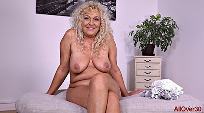 Mature tits, Chubby solo
