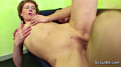 Granny anal, Old and young, Young boy, Help, Watching porn, Granny boy