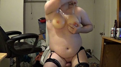 Cd, Chubby masturbation, Dildo riding