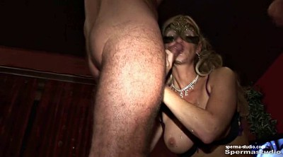 Cum in mouth, Mouth, Gangbang creampie