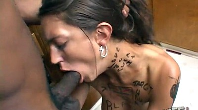 Cheating wife, Interracial blowjob
