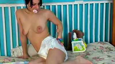 Diaper, Anal teen, Diapers, Hairy teens, Sex toy