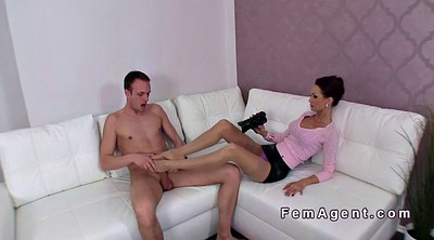 Footjob, Female casting agent