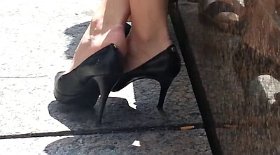 Candid, Shoe, Foot sole, High-heeled shoes