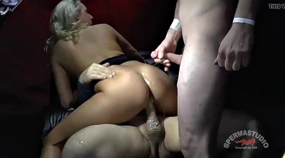 Gangbang creampie, Group