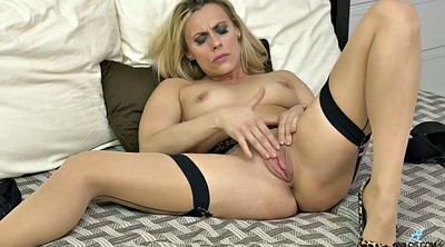 Czech, Brittany, Stocking milf, Milf stocking, Blonde stockings