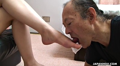 Foot, Japanese milf, Japanese granny, Japanese old, Grannies, Japanese licking