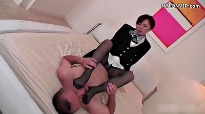 Nylon footjob, Nylon, Japanese black, Asian black, Japanese pantyhose, Pantyhose footjob