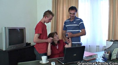 Office mature, Office granny, Office young