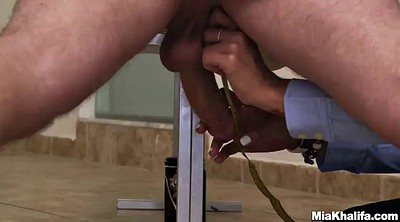 Glasses, Handjob cumshot
