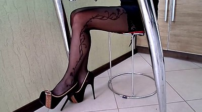 Stockings heels, Shoe