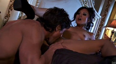 Throated, Asian shaved pussy