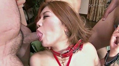 Japanese gangbang, Japanese uncensored, Dildo asian