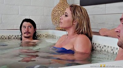 Eva notty, Caught, Sauna, Sons, Her son, Son friend