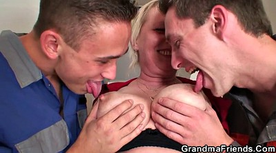 Old granny, Young threesome, Wife double penetration, Threesome wife, Mature wife
