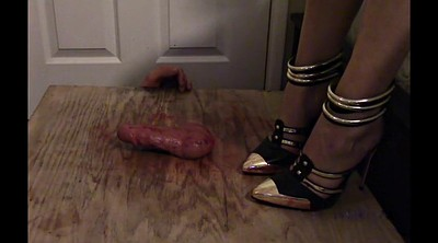 High heels, Trample, Cbt, High-heeled