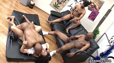Gangbang, Japanese black, Gangbang creampie, Japanese gangbang, Japanese interracial, Black japanese