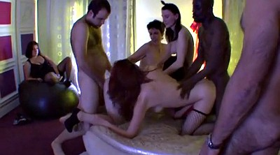 Swinger party, Private, French party