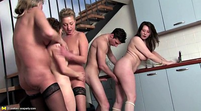 Boy, Mature gangbang, Granny gangbang, Private party, Mom boys, Milf party