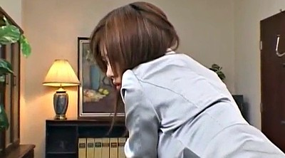 Japanese office, Milf creampie