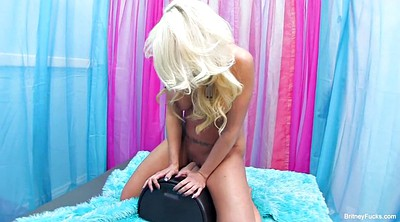 Blond, Sybian, Riding toy
