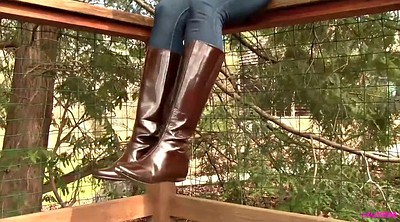 Foot, Leather boots