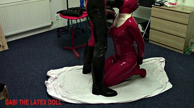 Rubber, Rubber latex, Rubber doll, Spank and fuck, Spanked and fucked