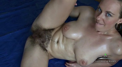 Mature hairy solo, Hairy solo