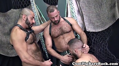 Leather, Swing, Bear, Swinging, Mature group, Bear gay