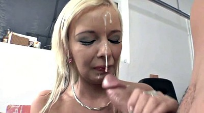 Swallow compilation, Handjob compilations