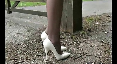 Heels, High heels, Office foot, Climax