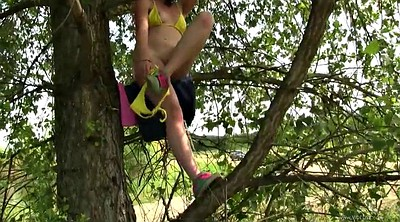 Teen masturbation, Teen masturbate, Tree