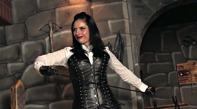 Leather, Whipped, Mistress whipping