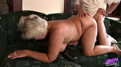 Granny anal, School anal