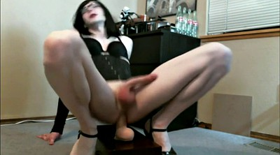 Crossdresser, Dildo riding