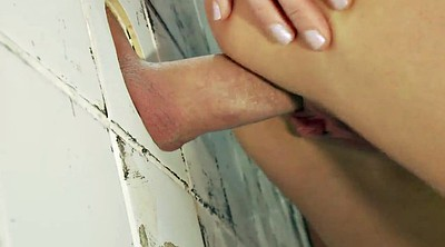 Cheating, Hole, Foot fuck, Neighbour, Wife blowjob, Gloryholes