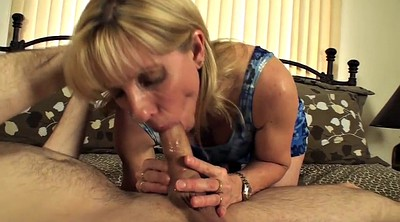 Birthday, Small boy, Mature cougar