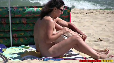 Nudist, Nudist beach, Mature big ass, Hidden couple, Hd video