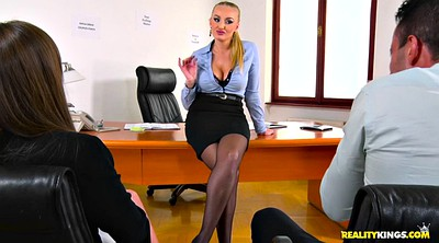 Office, Kayla green, Clothed, Angelica, Russian milf, Clothed wife