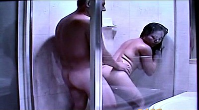 Shower, Asian pussy