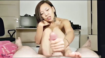 Footjob, Asian footjob, Footjob cumshot
