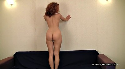 Body, Curly, Redhead solo, Nude show