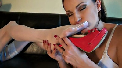 Nylon, Foot worship, Abbie