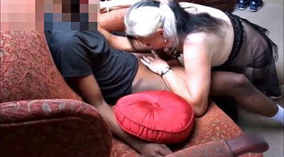 Young, Big cock, Mature and young, Interracial mature